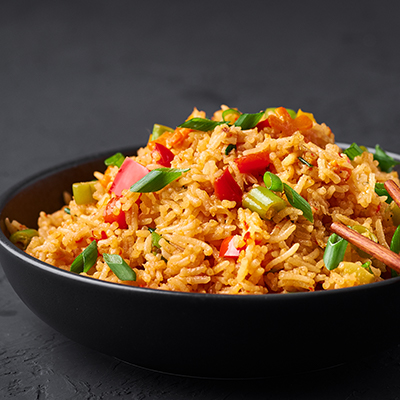 Del Monte SCHEZWAN RICE Recipe