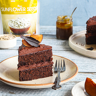 Del Monte Gluten free and Vegan Chocolate Cake Recipe