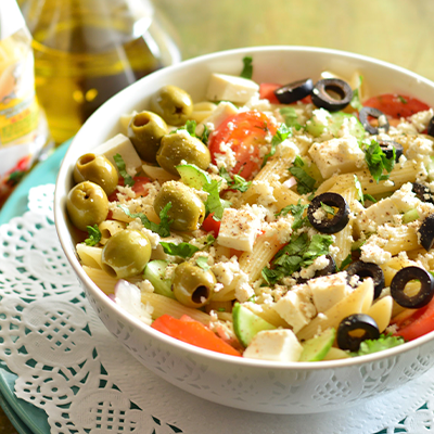 Del Monte EASY PASTA SALAD Recipe