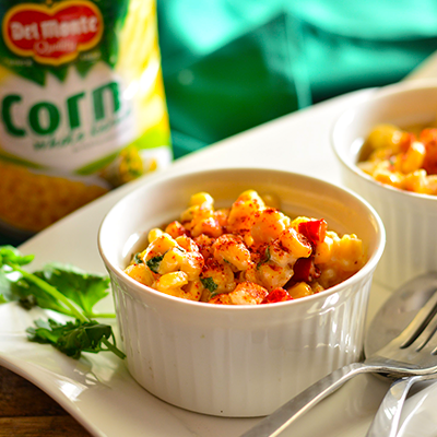 Del Monte Mexican corn salsa Recipe