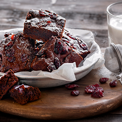Del Monte Cranberry Brownies Recipe
