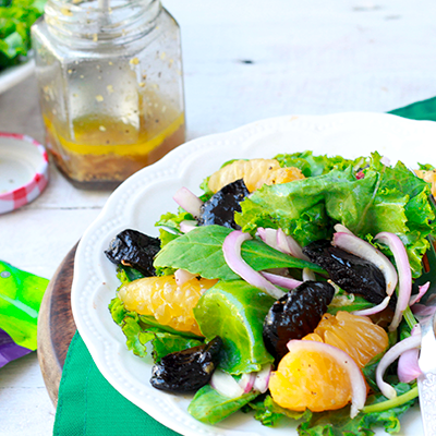 Del Monte Prune and Orange Salad Recipe