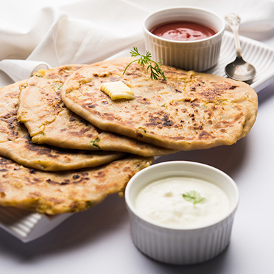 Del Monte LEFT OVER SABZI KA PARANTHA Recipe