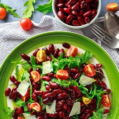 Del Monte Hariyali rajma salad Recipe