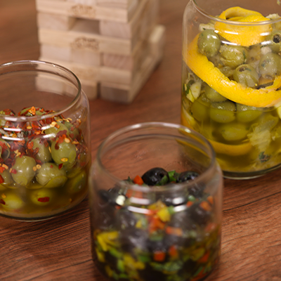 Del Monte 3 WAY MARINATED OLIVES Recipe