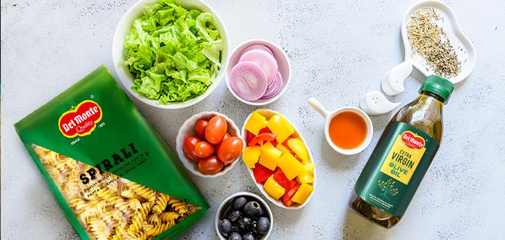 Del Monte Rainbow Pasta Salad Recipe