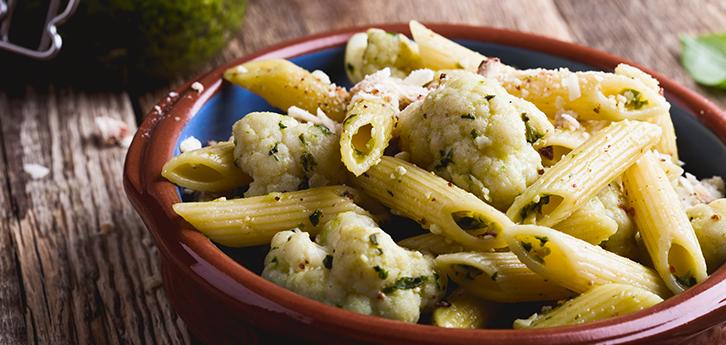 Del Monte Pasta with Cauliflower Sauce Recipe