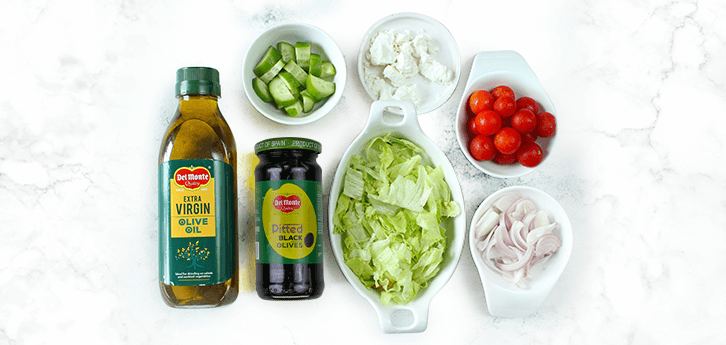 Del Monte CLASSIC GREEK SALAD Recipe