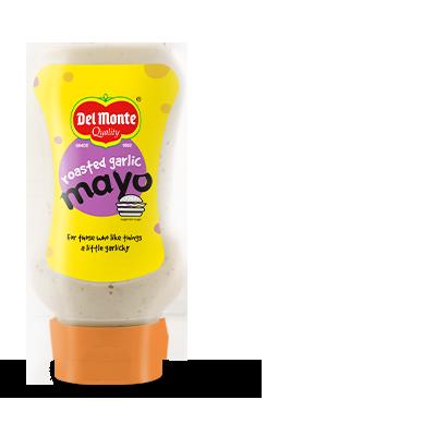 Del Monte Roasted Garlic Mayo (Bottle) Product