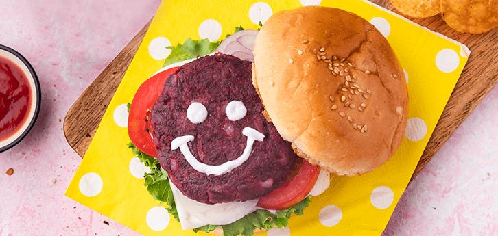 Del Monte Pink Patty burger Recipe