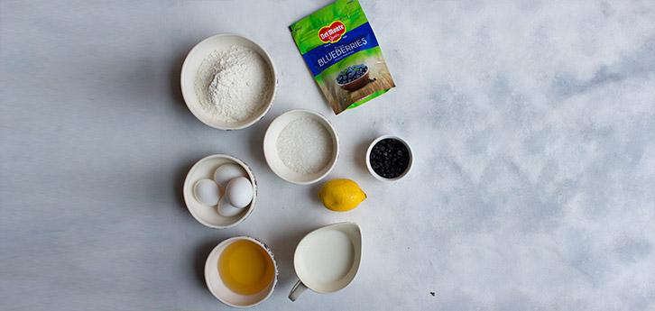 Del Monte BLUEBERRY LEMON CAKE Recipe