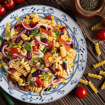 Del Monte Corn and Tomato Pasta Recipe
