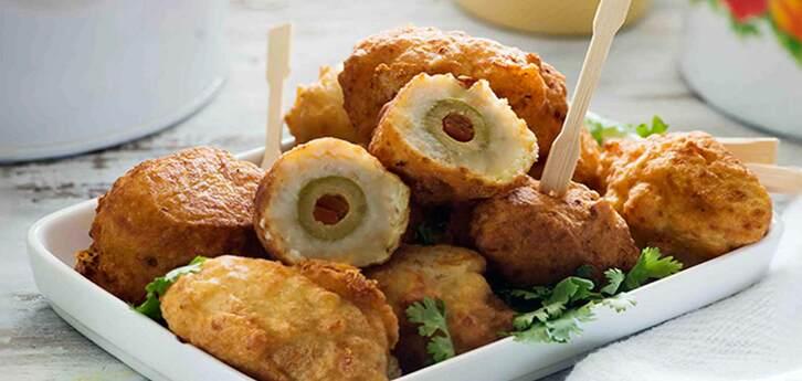 Del Monte Stuffed Fried Olives Recipe