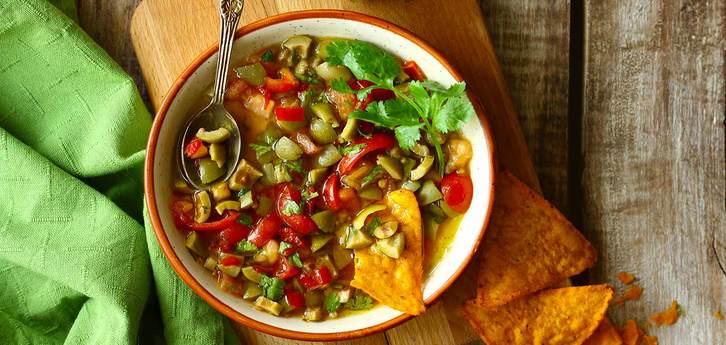 Del Monte Tomato & Olive Salsa Recipe