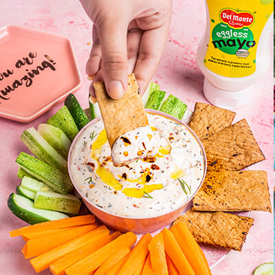 Del Monte Herby Dill Mayo dip Recipe