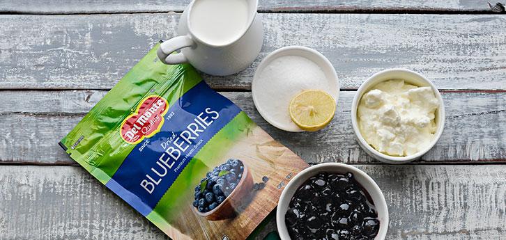 Del Monte Blueberry Lemon Fool Recipe