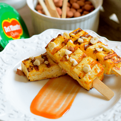 Del Monte PANEER SATAY RECIPE WITH TANDOORI MAYO Recipe