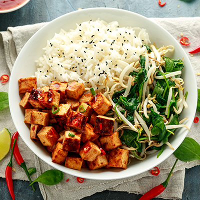 Del Monte PAN FRIED SESAME CHILLI TOFU Recipe