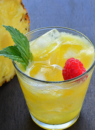 PINEAPPLE coconut punch