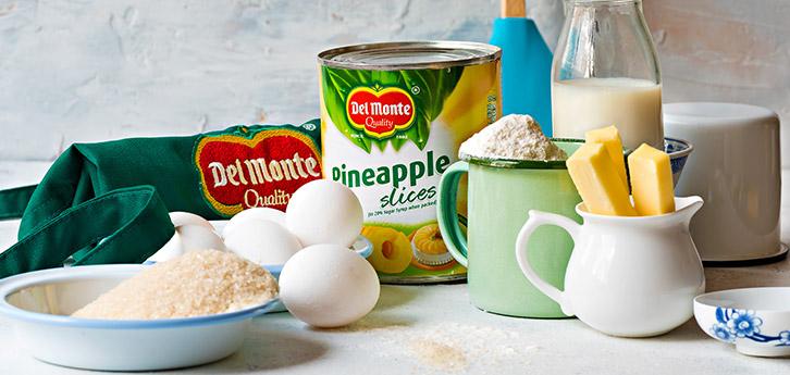 Del Monte Pineapple cake Recipe