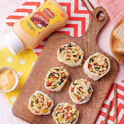 Del Monte Pinwheel sandwhich Recipe