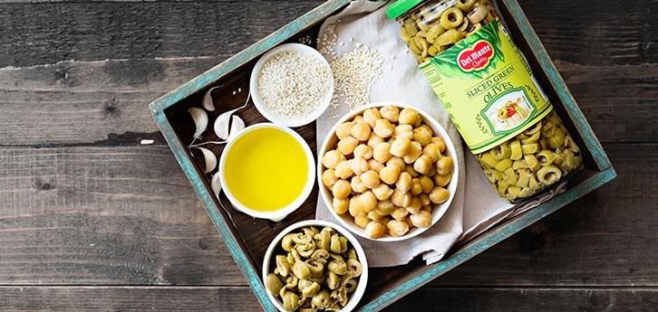 Del Monte Olive Hummus Recipe