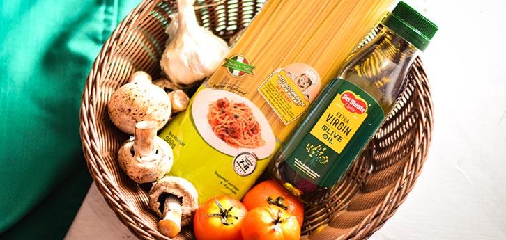 Del Monte One Pot Pasta With Olives & Mushrooms Recipe