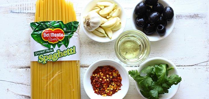 Del Monte Spaghetti Aglio Olio Recipe