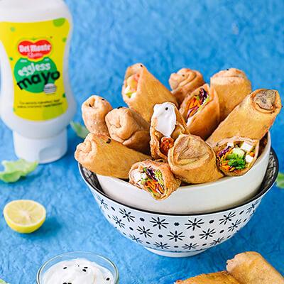 Del Monte VEG SPRING ROLLS Recipe