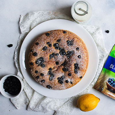 Del Monte BLUEBERRY LEMON CAKE Recipe