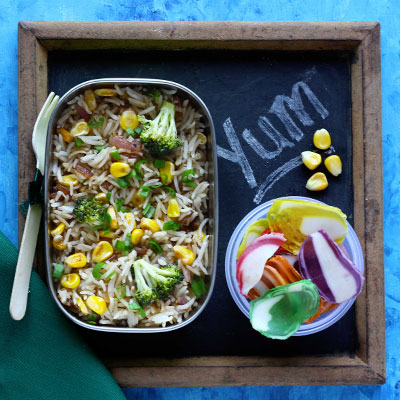 Del Monte Corn fried rice Recipe