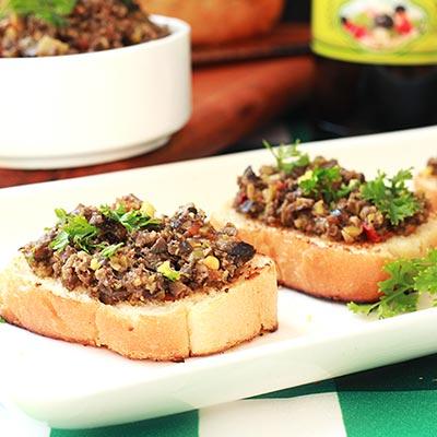 Del Monte Olive Crostini Recipe