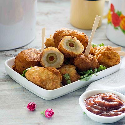 Del Monte Stuffed Fried Olives Recipe