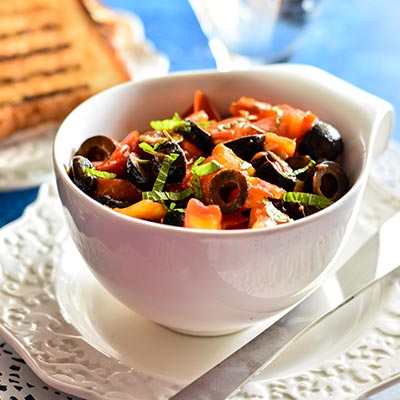 Del Monte Sautéed Black Olives with tOMATOES Recipe