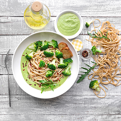 Del Monte Spaghetti With Broccoli in Rocket Pesto Sauce Recipe