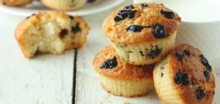 Del Monte Blueberry Muffins Recipe