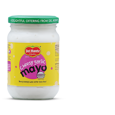 Del Monte Cheesy Garlic Mayo Product