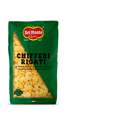 Del Monte Durum Wheat Pasta-Chifferi Rigati Product