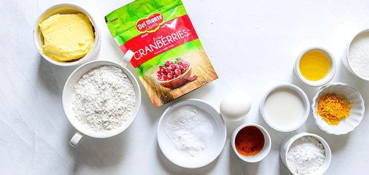Del Monte Cranberry Orange Muffins Recipe