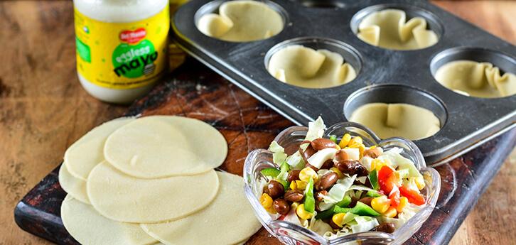 Del Monte Crunchy Taco Cups Recipe