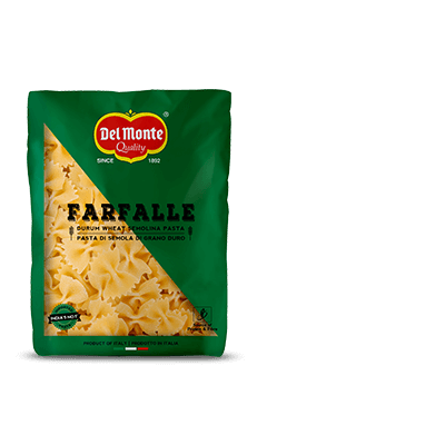 Del Monte Durum Wheat Pasta-Farfalle Product