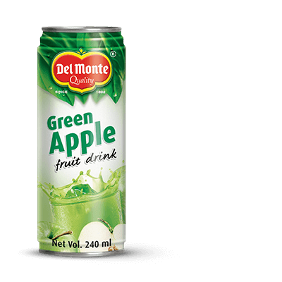 Del Monte Green Apple Fruit Drink Product