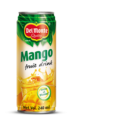 Del Monte Mango Fruit Drink Product