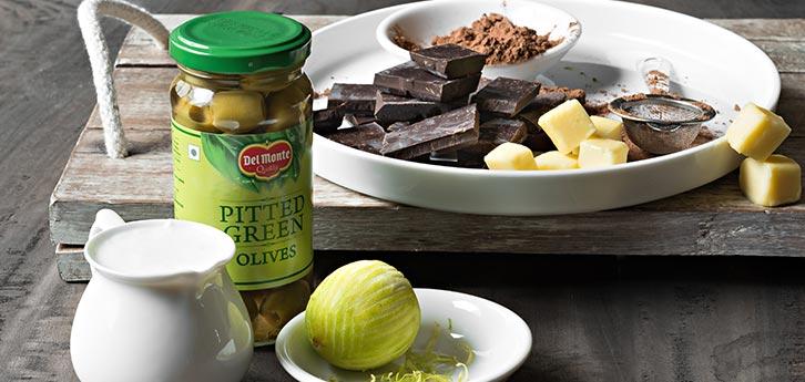 Del Monte Olive Chocolate Truffles Recipe