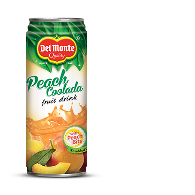Del Monte Peach Coolada Fruit Drink Product