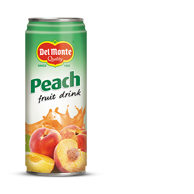 Del Monte Peach Fruit Drink Product
