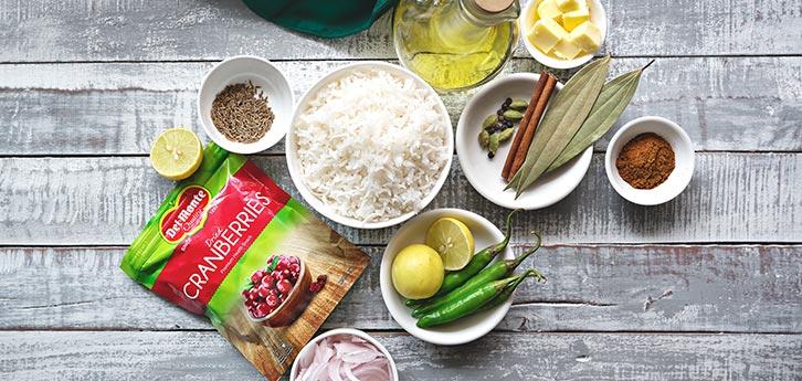 Del Monte Cranberry Lemon Rice Pilaf Recipe