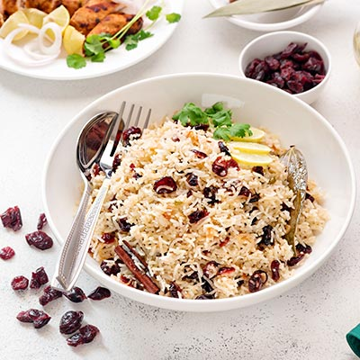 Del Monte Cranberry Lemon Rice Pilaf Recipe