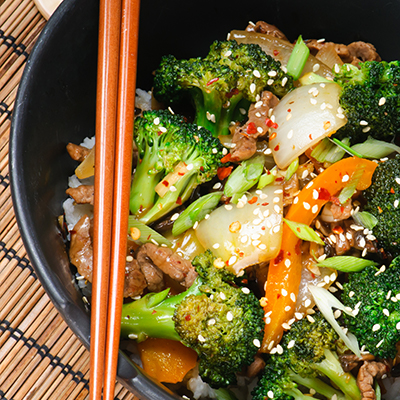 Del Monte STIR FRIED CHINESE GREENS Recipe