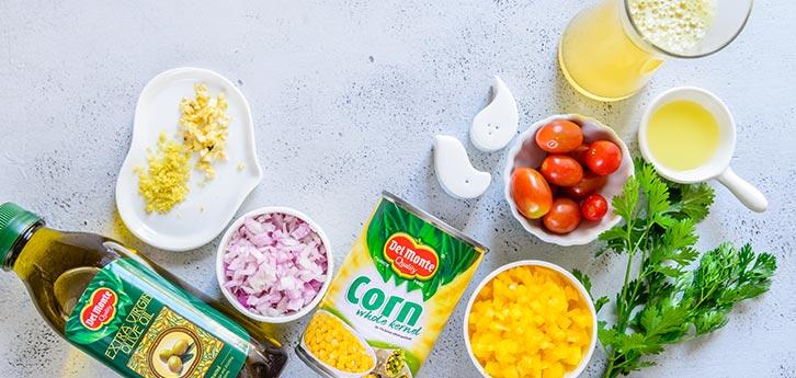 Del Monte Creamy Corn Gazpacho Recipe